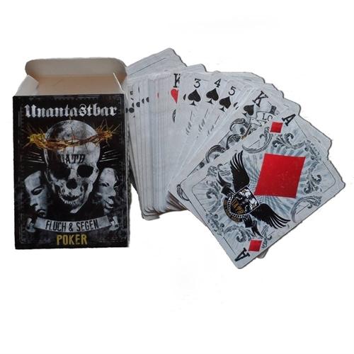 Unantastbar - Fluch&Segen, Poker Karten