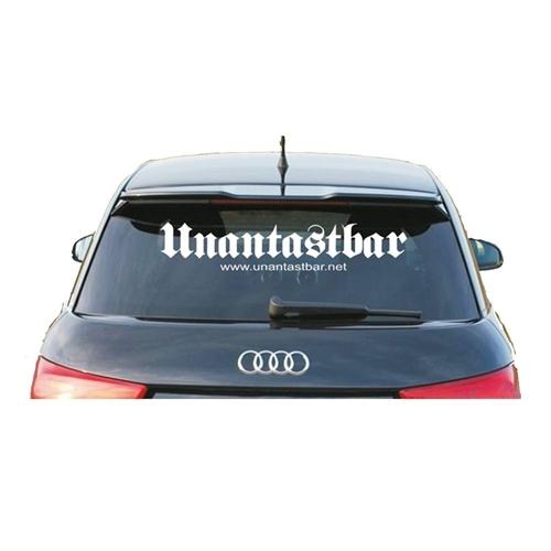 Unantastbar - Classic, Heckscheibenaufkleber