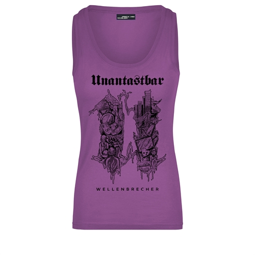 Unantastbar - Wellenbrecher U, Tanktop