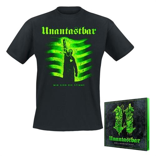 Unantastbar - Wellenbrecher Bundle, T-Shirt + CD