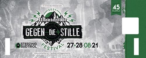 Unantastbar - Gegen die Stille, Festival-Ticket