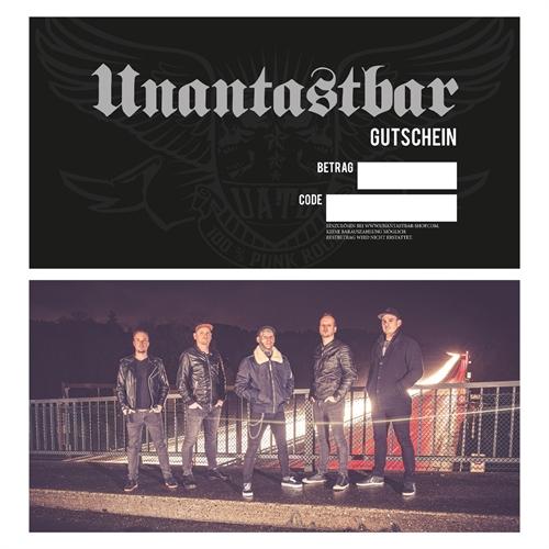 Unantastbar -  Geschenkgutschein Hardcover