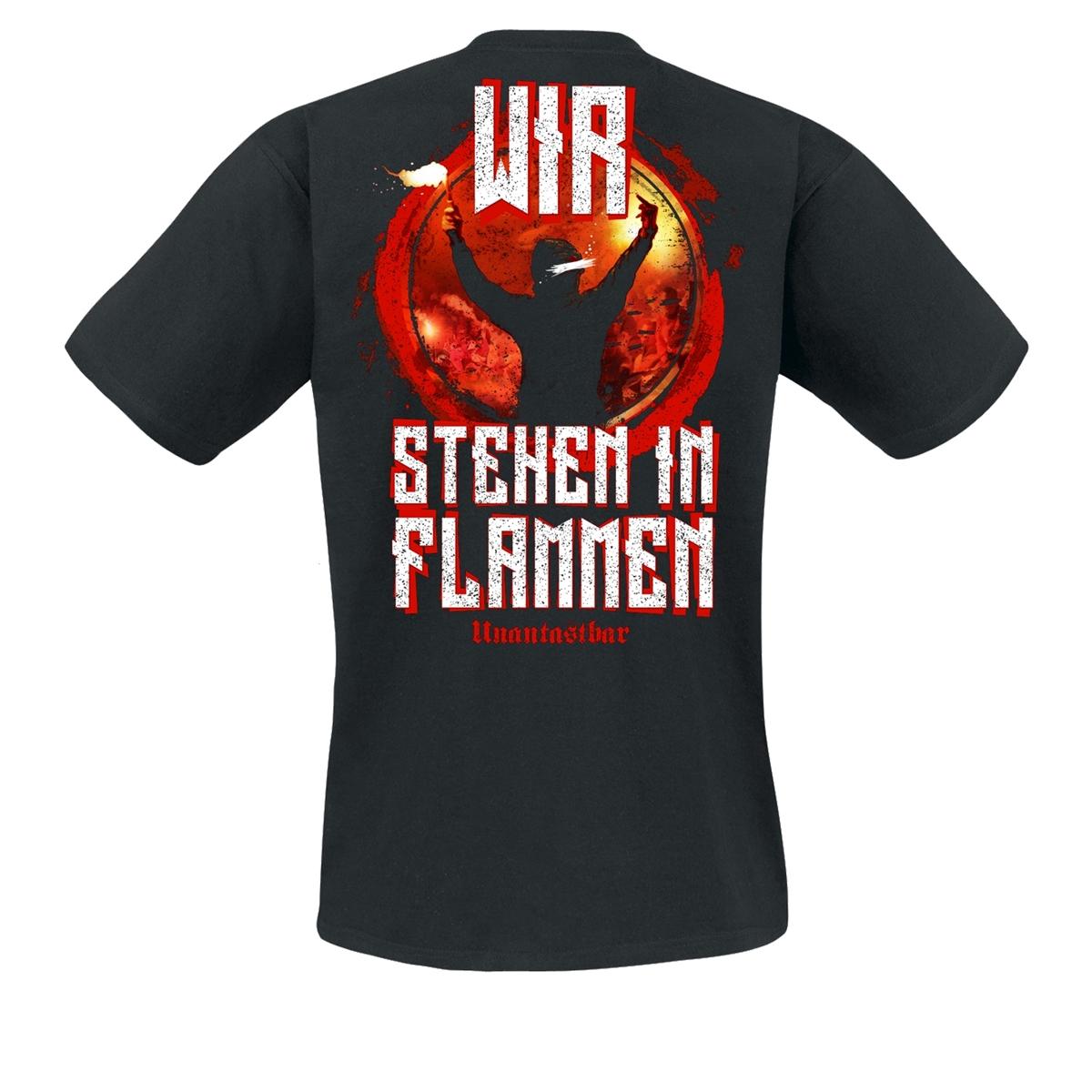 Unantastbar - Das Stadion brennt, T-Shirt