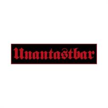 Unantastbar - Logo, Aufnäher