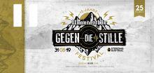 Gegen die Stille Festival - 15 Jahre Unantastbar Jubiläumskonzert