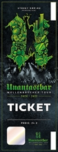 Unantastbar - Wellenbrecher Tour 20/21, Ticket