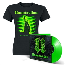 Unantastbar - Wellenbrecher Bundle, Girl-Shirt + LP